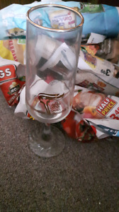 Olympic Glass Flutes (1988)-collectables