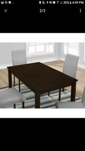 BRAND NEW Rectangular Dining Table (only)