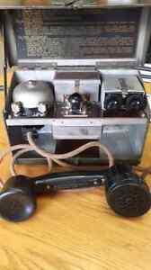 Téléphone militaire de terrain D.MK.V  2e Guerre Mondiale