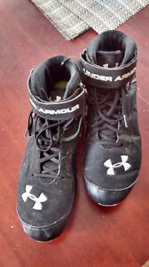 Underarmor football cleats Strathcona County Edmonton Area image 1