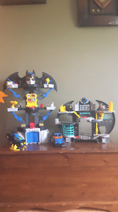 2 ensembles  imaginext de batman