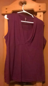 tank top and shirt woman plus size 2x-3x fit
