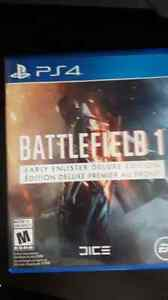 A vendre bf1 ps4 comme neuf