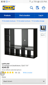 Ikea wall unit - very sturdy