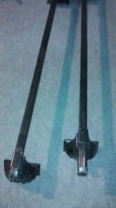 "Thule Roof Rack Toyota Echo 2000-2005 with locks 50"" bars"