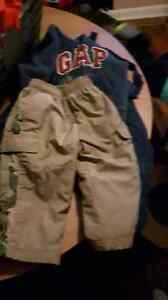 Boys pants sweater and snowpants