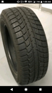 4x Weathermate Artic Winter Tires 225-55-17 H speed.