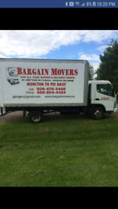 Bargain Movers looking for experienced mover