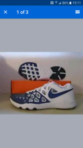 New Penn State Nike Speed Trainers as 10.5