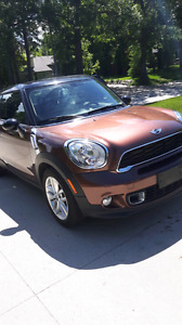 2013 Mini CooperS  Paceman 4All  43000kms auto