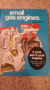 Small gas engines 2 and 4 cycle engines book