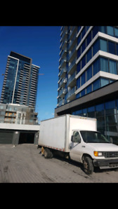 Camion cube 16 pied avc monte charge
