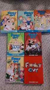 Family Guy seasons 1 - 7 complete DVD