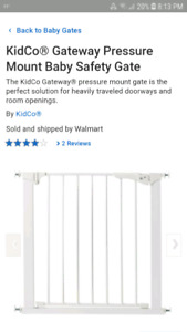 Kidco Baby Gate Kijiji In Alberta Buy Sell Save With