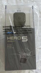 GoPro Hero5Session, (neuve) Superbe vidéo 4K et 10mpx