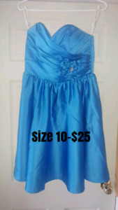 Dresses sizes on pictures
