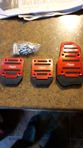 Pedal covers for manual car