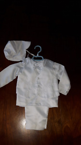 Boys baptismal outfit 9 months