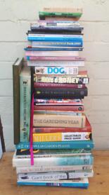 Job lot of 30 books