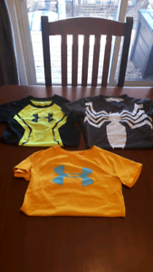 Boys size 4T Under Armor T-Shirts $20