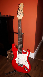 2 Grayson Electric guitars with Clayton Park amps