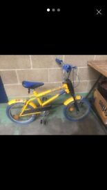 Old school Raleigh Strika bmx burner vintage