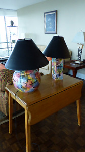 Beautiful Neiman-Marcus Table Lamps Excellent Buy