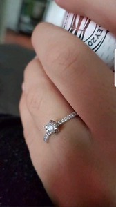 Engagement ring  size 7