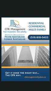 CFK MANAGEMENT wants to Rent your Rental!!