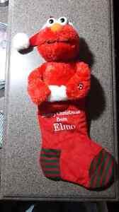 Elmo Christmas Stocking