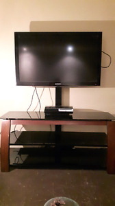 "42"" Samsung 1080p LED TV &  swivel stand"