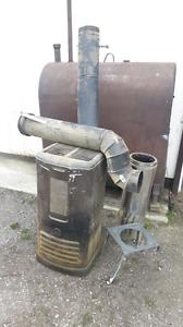 Coleman oil stove setup