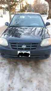 2005 Hyundai accent (licensed & inspected)