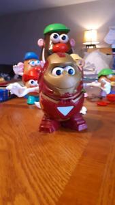 Monsieur Patate Iron Man