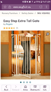 Extra tall baby/pet  gate brand new