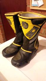 SIDI Motorcycle Boots size 8