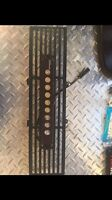 f150 lower bumper grill with led light