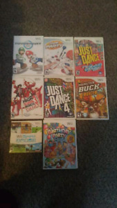 Wii u and accessories and games