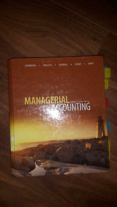 Managerial Accounting book/ business 2nd year program
