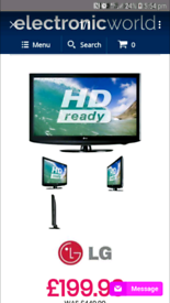 Lg 37 hd ready tv