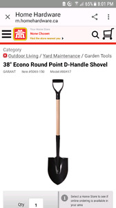WANTED..... used shovel and metal forked rake