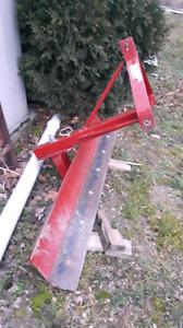 Back blade