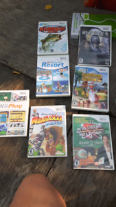 Wii game console and all accessories