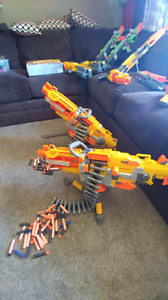 GREAT CONDITION NERF GUNS!!! CHEAP