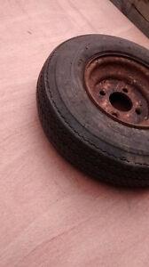trailer tire 4.80-8 Kitchener / Waterloo Kitchener Area image 3