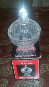 CRISTAL DARQUES - GENUINE CRYSTAL CANDY TRAY