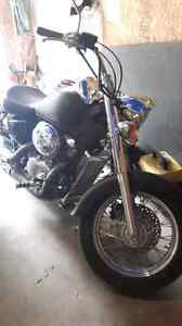 2001 honda shadow 750  ace