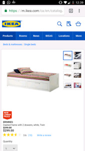 IKEA Brimnes Daybed - without mattress