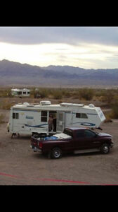 FIFTH WHEEL TRAILER -EXCELLENT CONDITION