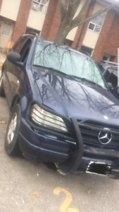 1999 Mercedes Benz ml320 comes as is